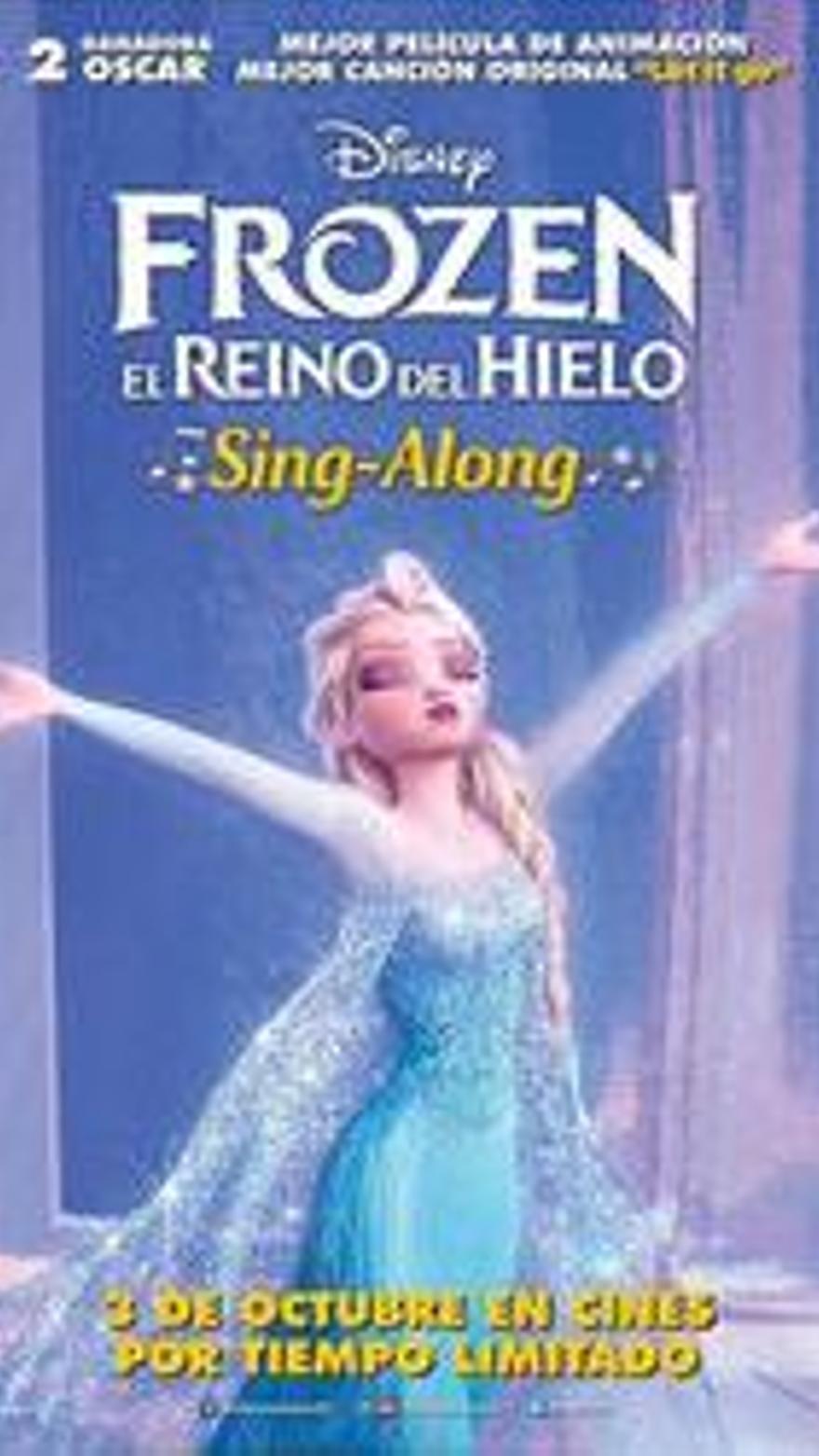 Frozen el reino de hielo, sing along
