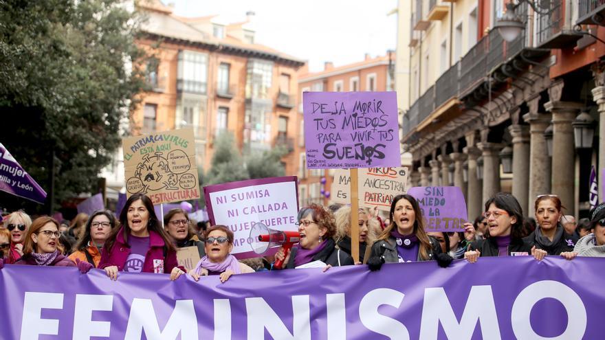 Comunicadas 22 manifestaciones por el Día de la Mujer en Castilla y León