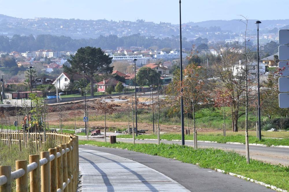 Obras de la urbanización Finca de Xaz