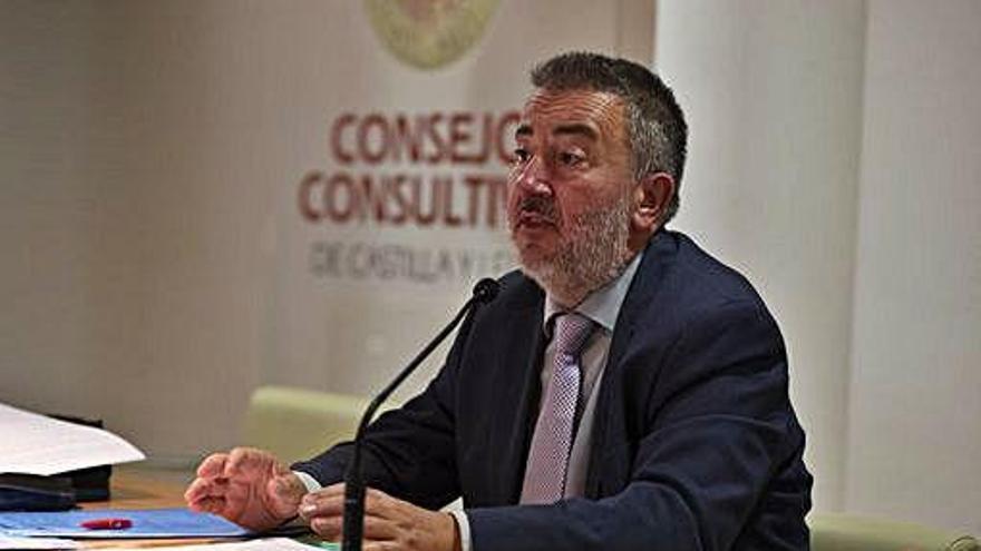 Conferencia de Sergio Herrero en el Consultivo.