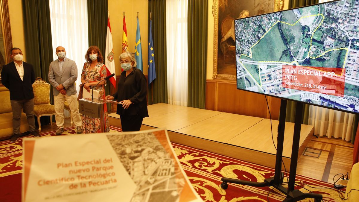 Acto de presentación del plan especial de la Pecuaria