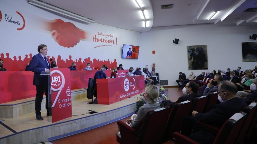 Imágenes del congreso ordinario de UGT en València