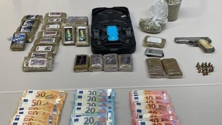 Intervenido un dron para controlar transacciones de droga en uno de los puntos más activos de Estepona