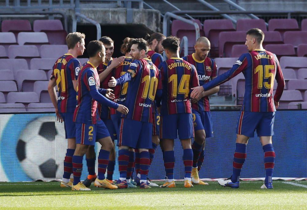 LaLiga Santander: FC Barcelona - Alavés.