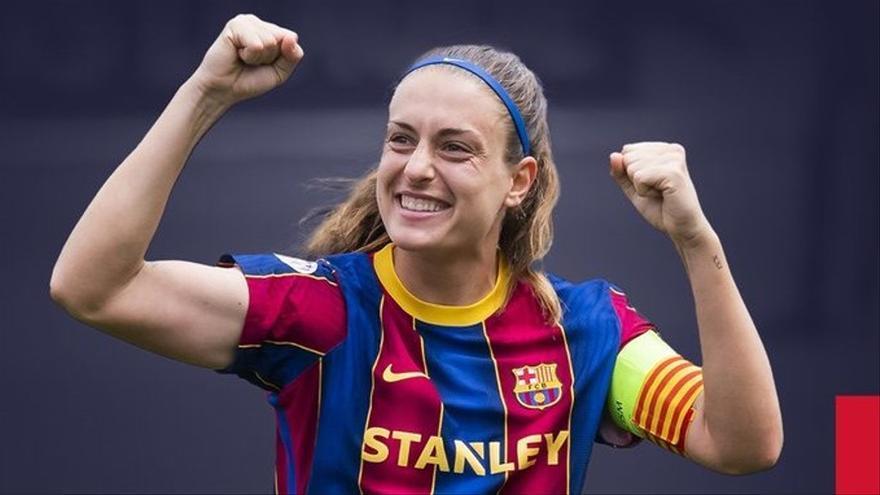 El Barça femenino arrasa en la gala de la UEFA con Alexia Putellas como mejor jugadora del año