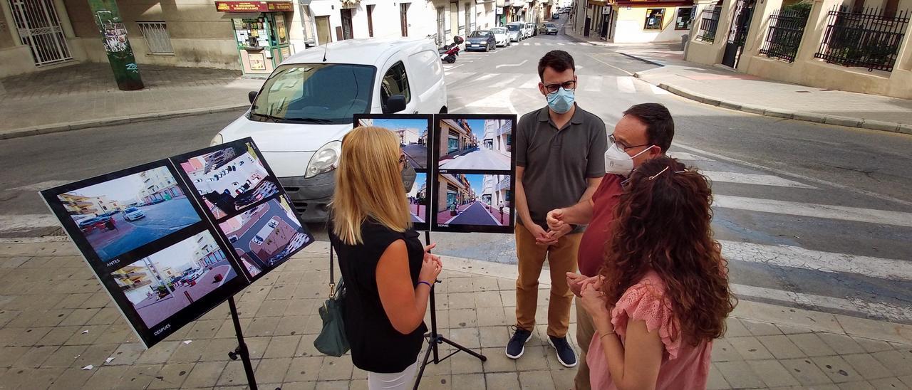 Presentación del proyecto de transformación de la plaza del Derrocat en Petrer.