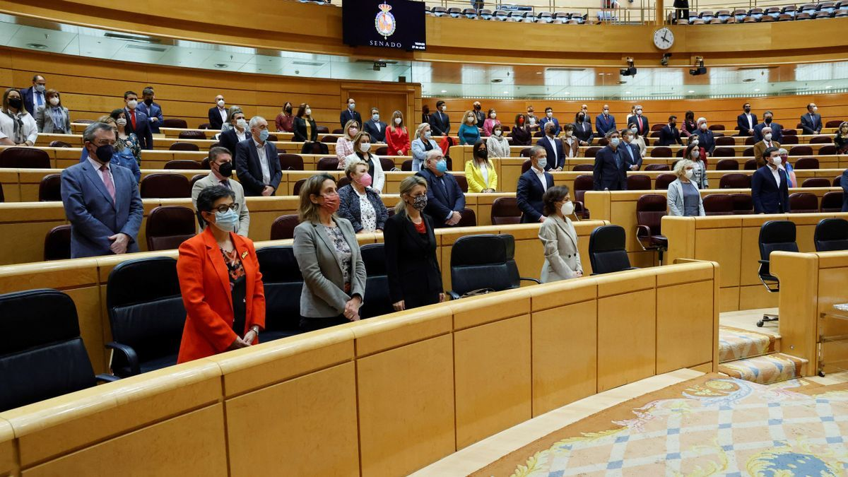 Una imagen del pleno del Senado.