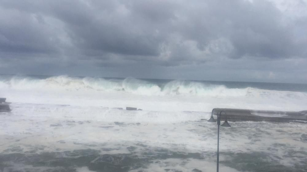 Oleaje en Bajamar, 18/11/2018