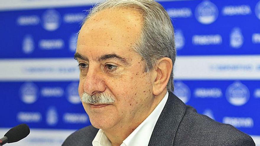 El presidente del Deportivo, Antonio Couceito. |  // RCDEPORTIVO
