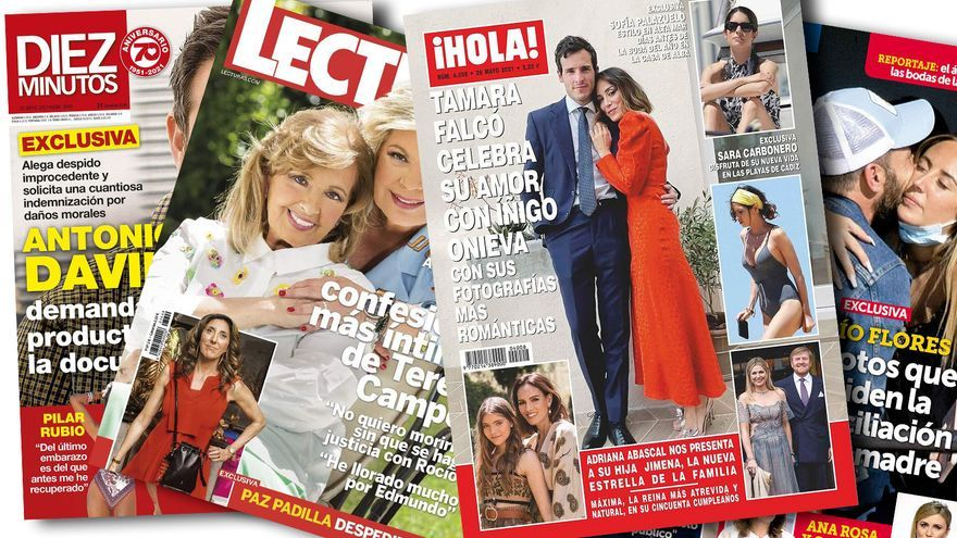 Paz Padilla, al paro y Tamara Falcó, sin boda