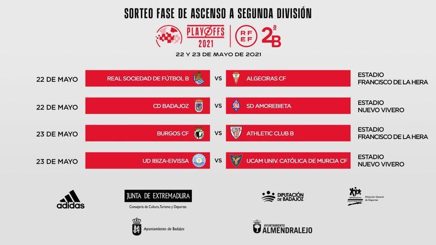 El Badajoz se jugará el ascenso ante Amorebieta