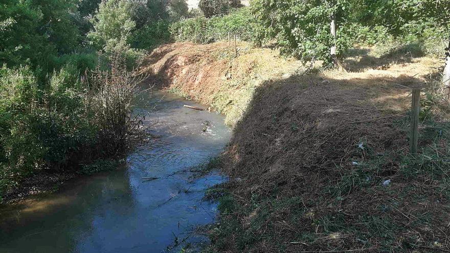 La CHE inicia actuaciones de mejora en el río Huerva