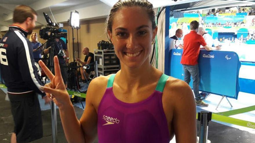 Sarai Gascón, plata en 200 metros estilos en los Paralímpicos