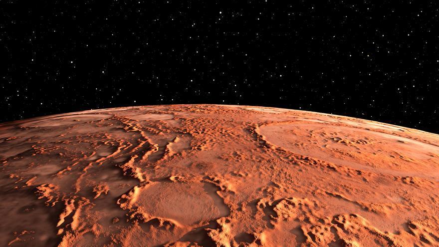 ¿Cuánto mide el núcleo de Marte?