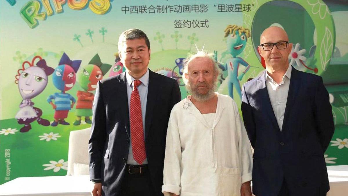 Ripollés firma en China el rodaje de la película 'Planet Ripos'