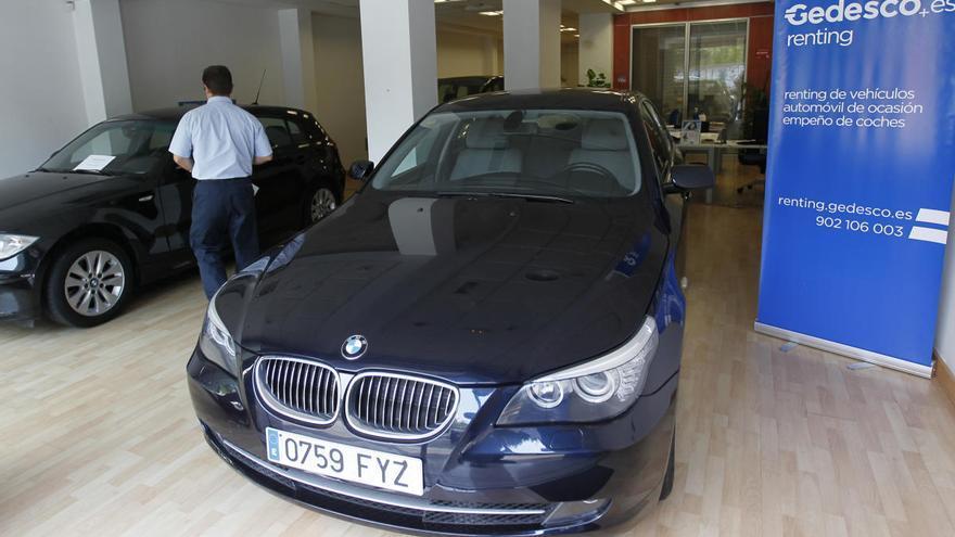 El renting recorta un 46% su inversión en la compra de vehículos por el Covid