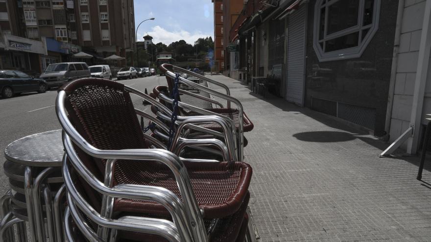 La nueva oleada de los ERTE en Asturias: 2.350 en la primera semana de cierres de negocios
