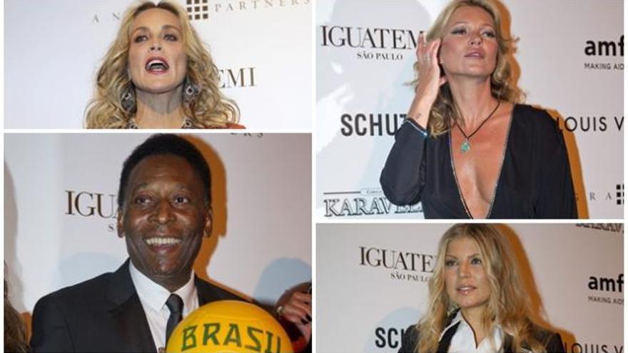 Los famosos arriman el hombro contra el sida