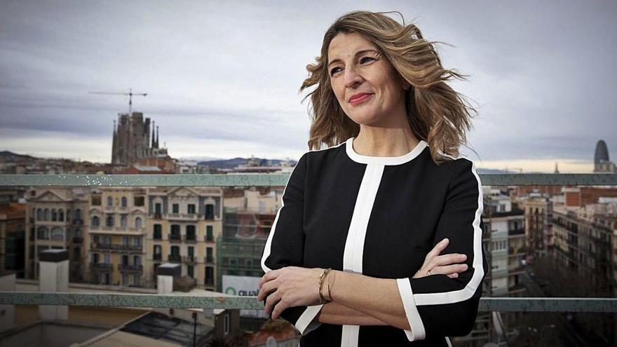 Yolanda Díaz: «Derogarem la primera part de la reforma laboral abans d'acabar l'any»