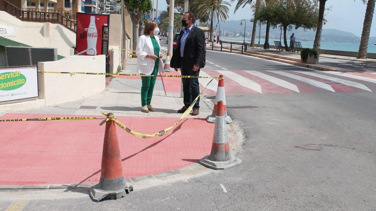Benicàssim mejora la accesibilidad de las aceras en la zona sur