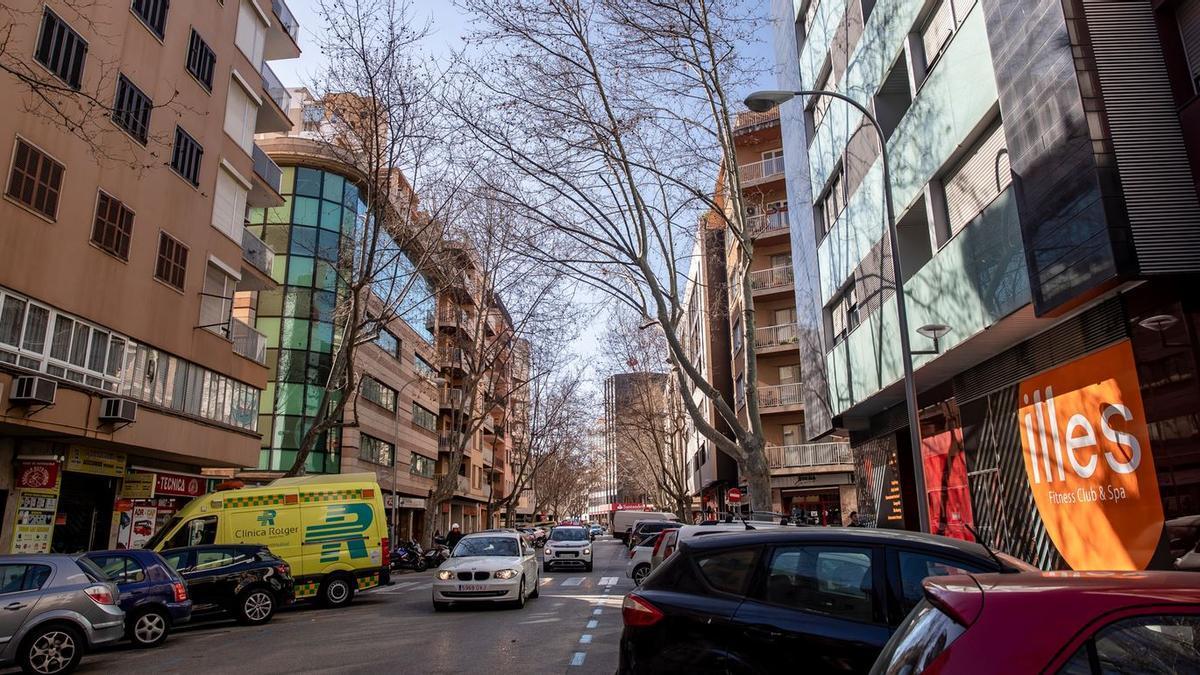 Imagen actual de la calle Nuredduna.