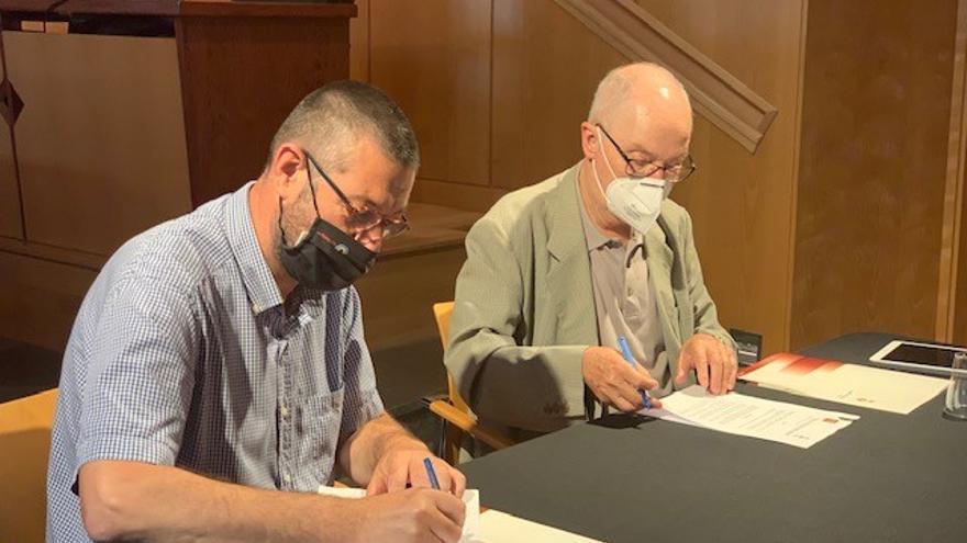 El Síndic de Greuges i l'Ajuntament de Castelló signen un conveni per garantir la defensa dels drets de les persones