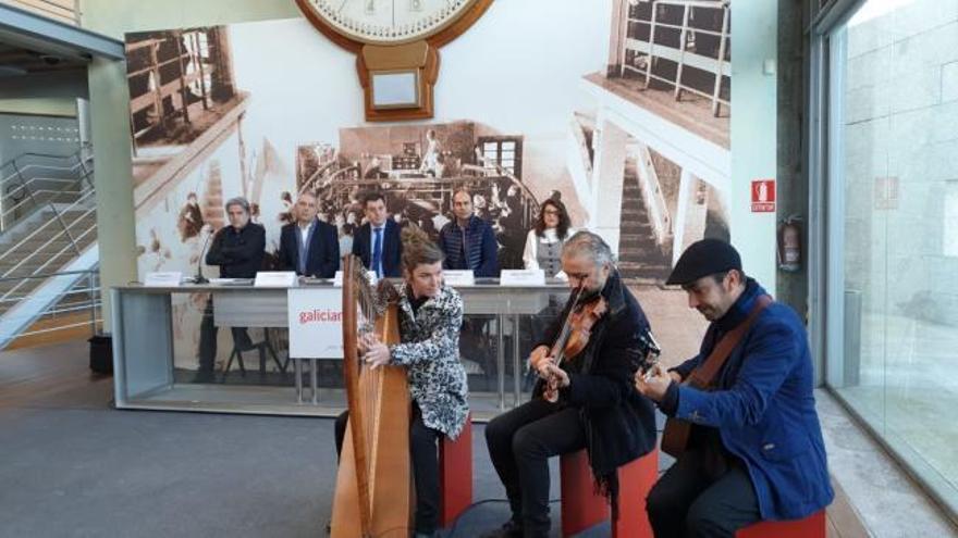 La música, embajadora de Galicia en Glasgow