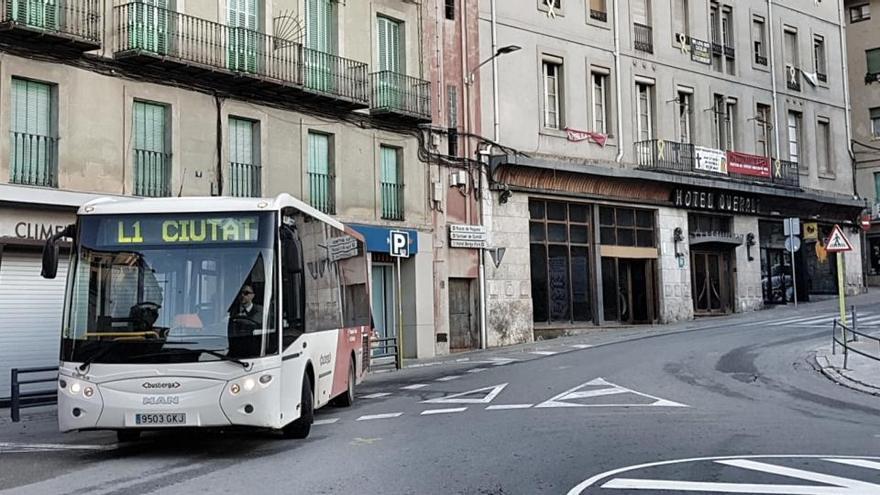 El servei de bus urbà de Berga és gratuït a partir d'avui per evitar contagis