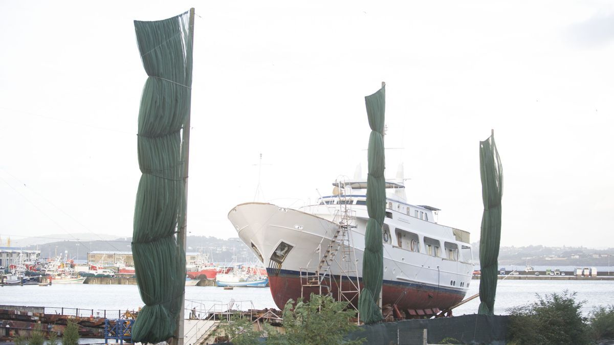 A la venta en A Coruña un yate que perteneció al estafador inglés John Palmer