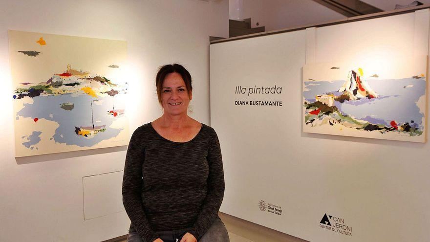 Paisajes 'josepins' y folclore en 'Illa pintada', de Diana Bustamante