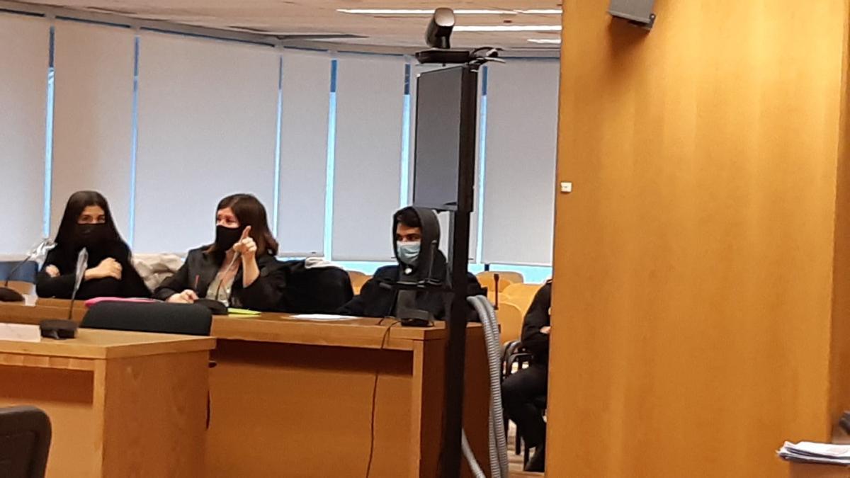 El caníbal de Ventas, durante el juicio.