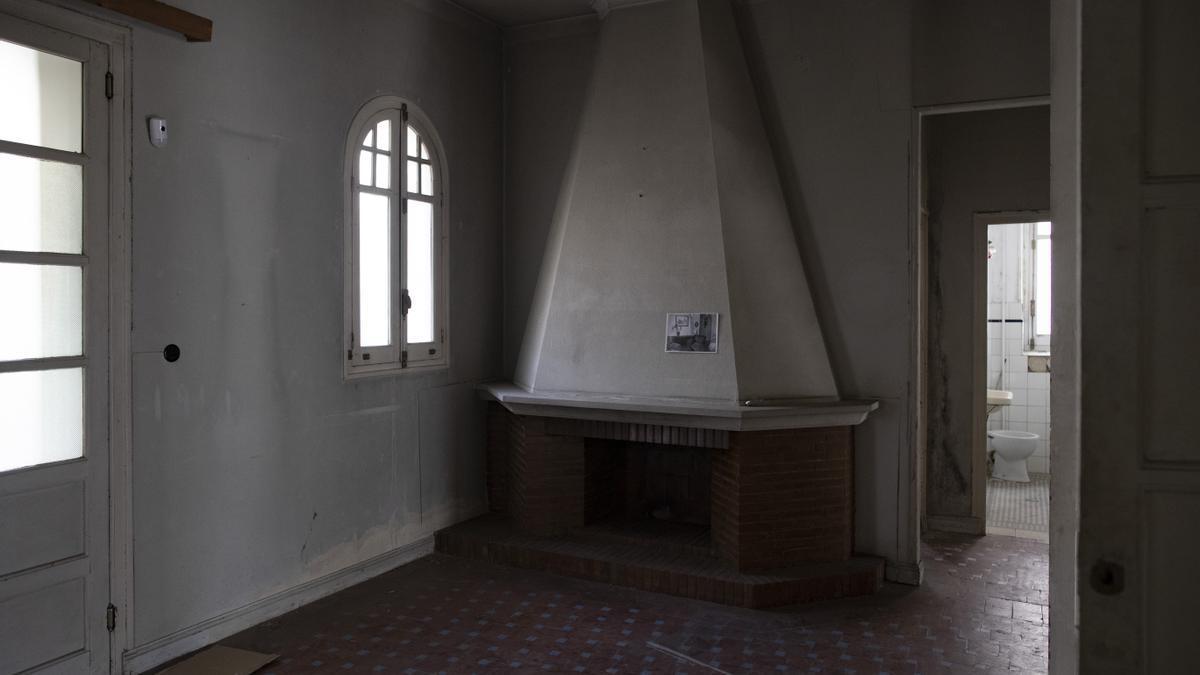 Una habitación de la casa de Vicente Aleixandre.