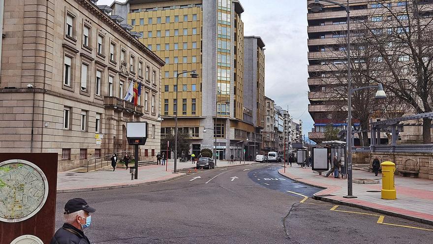 El tramo de calle San Lázaro situado frente a la Subdegación será una plaza peatonal