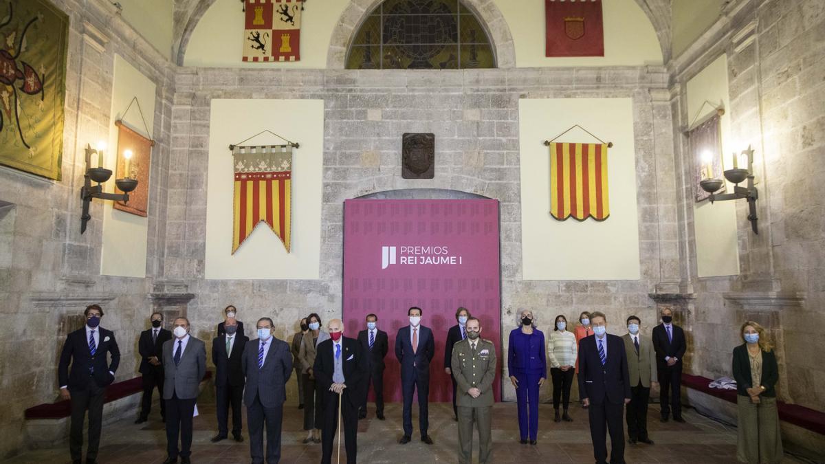 Reunión del jurado de los premios Jaume I