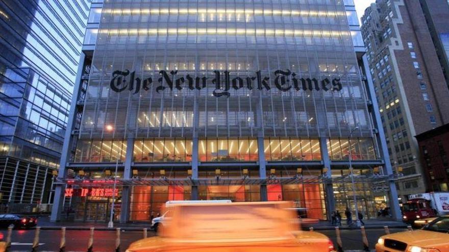 El 'New York Times' responderá a Trump con un anuncio en la gala de los Oscars