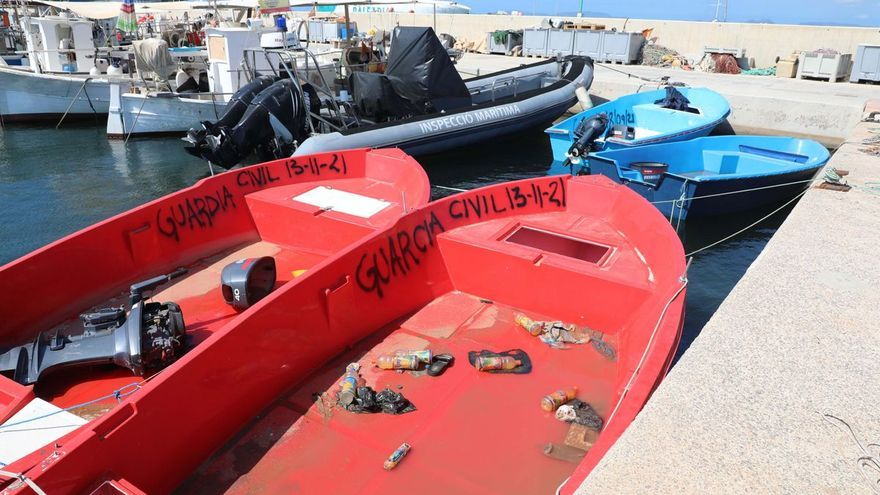 Una nueva patera con doce migrantes a bordo llega a la costa de Formentera