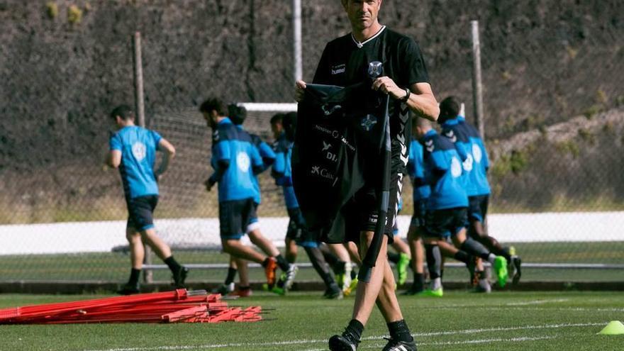 José Luis Martí, el debutante que lanzó al Tenerife