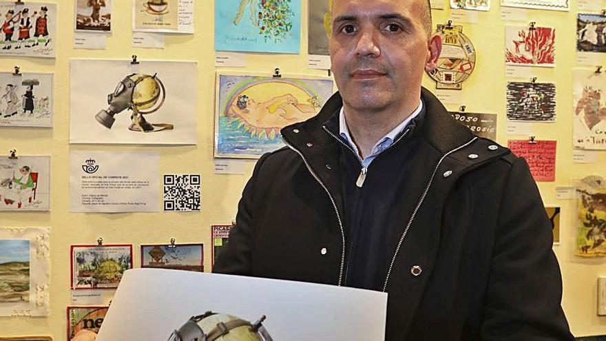 """García de Marina: """"Descubrí que necesito contarme y contar lo que me rodea con lo que tengo en casa"""""""
