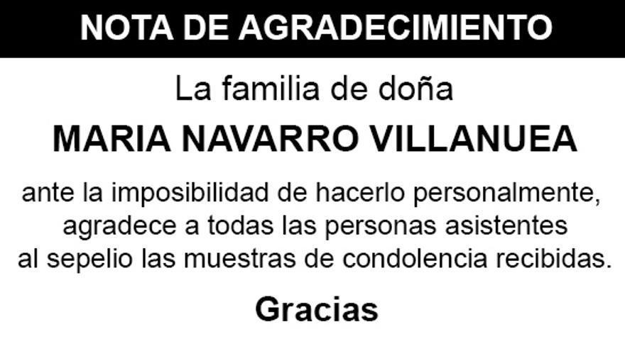 Nota Maria Navarro Villanueva
