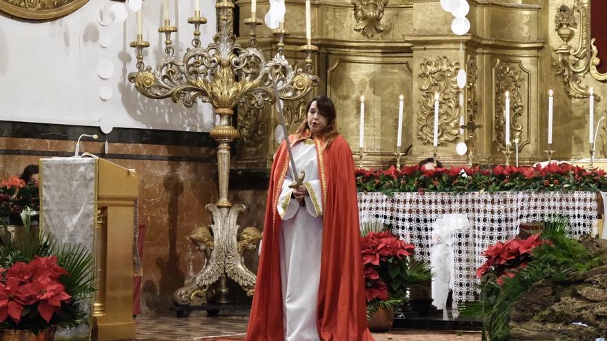 Así cantó la sorprano Arancha Calvo la Sibil·la en la iglesia de la Mercè de Palma