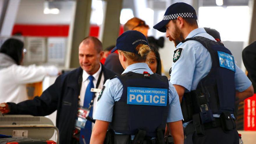 La Policía aborta un plan para atentar contra un avión en Australia
