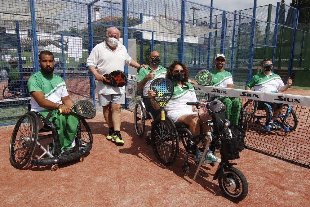 Campeonato de España de padel en silla de ruedas