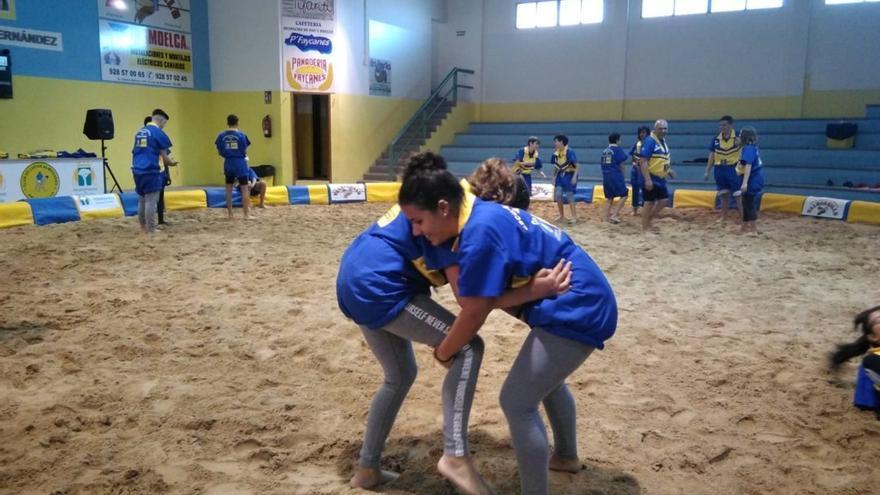 Se reanuda el Proyecto Escuela de Lucha Canaria