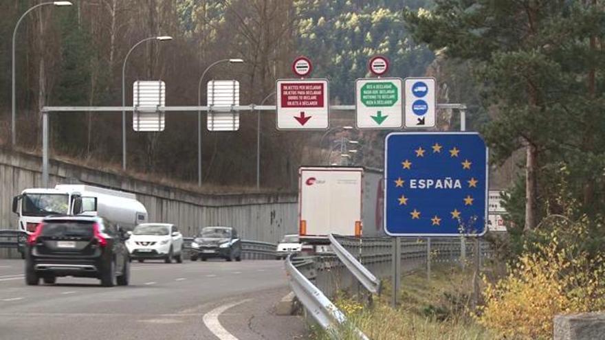 Primer dia de mobilitat permesa entre l'Alt Urgell i Andorra