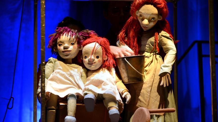 El mejor espectáculo de títeres de 2021, en el teatro Carolina Coronado de Almendralejo