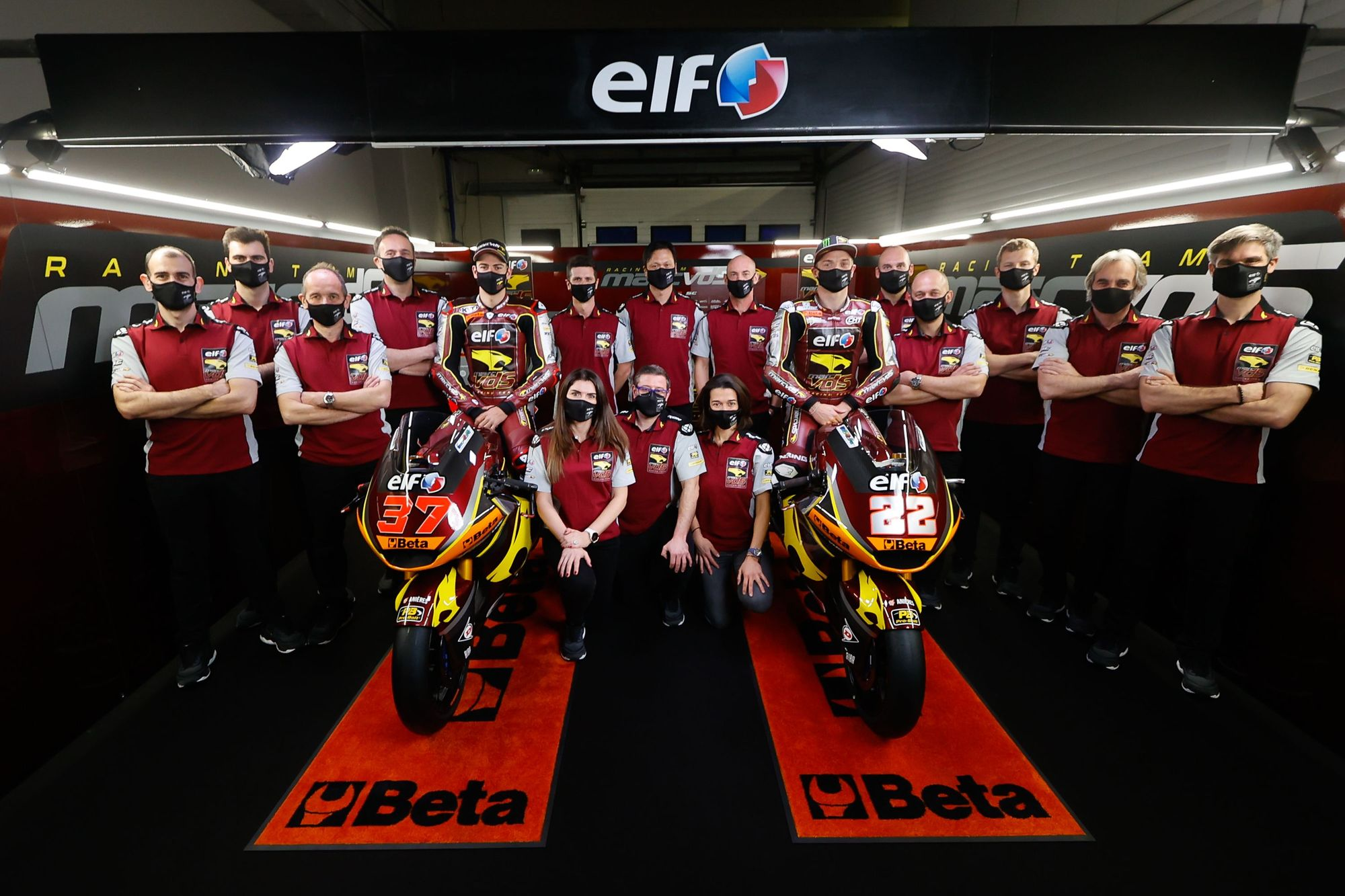 Augusto Fernández se presenta con el Elf Marc VDS Racing Team