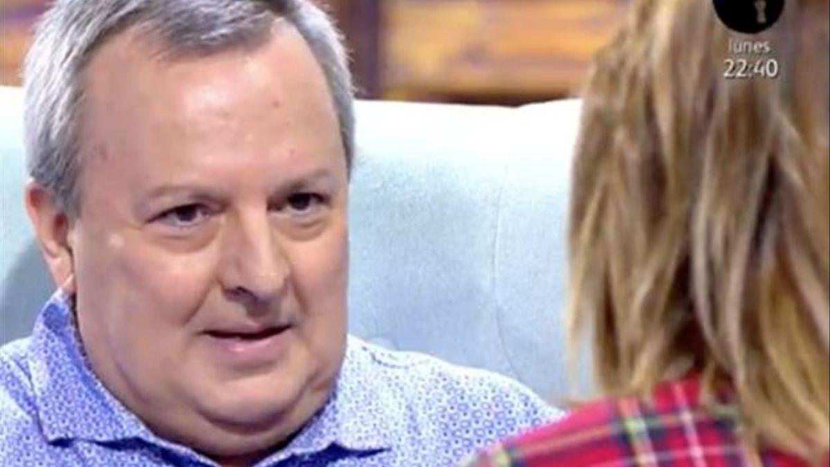 Octavio Acebes en una aparición en televisión