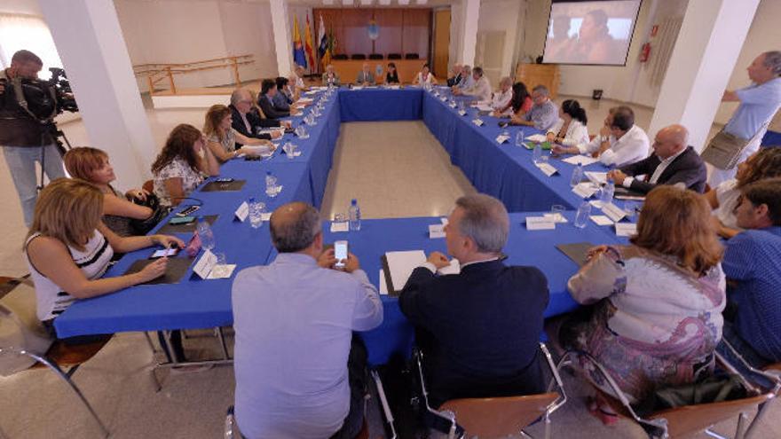 El Cabildo respalda los proyectos estratégicos de Santa Lucía