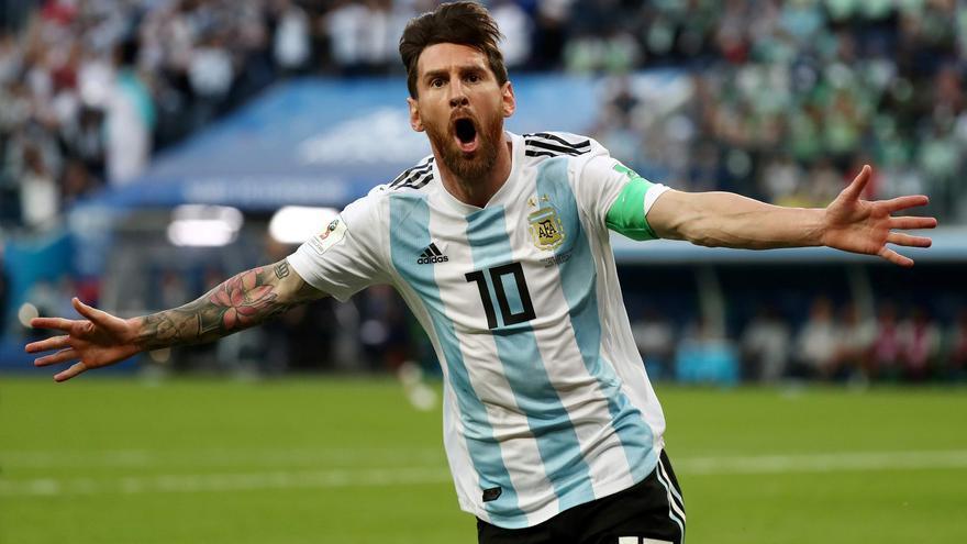 El recadito de Messi a Yerry Mina