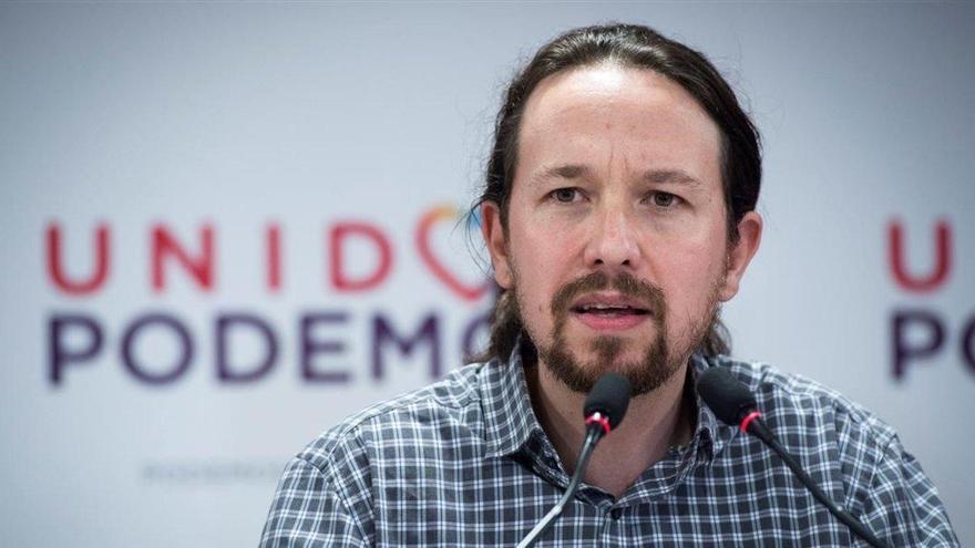 Iglesias insiste: no puede haber normalidad democrática con el Rey huido
